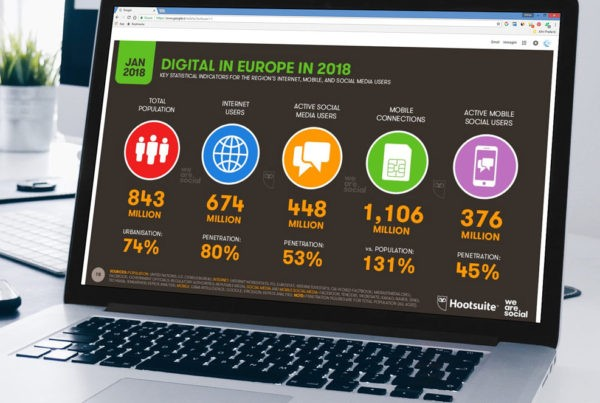Manthea.ch | We Are Social - Statistiche utilizzo social mobile in europa 2018