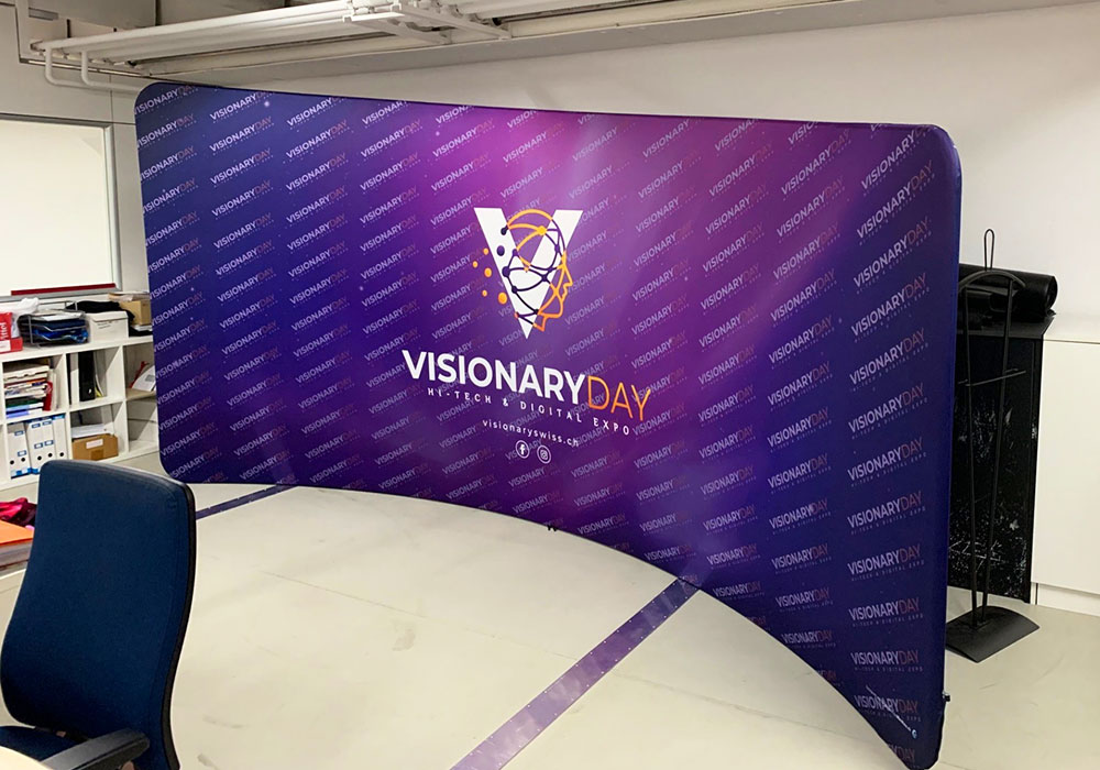 Wall Evento Visionary Day-Swiss