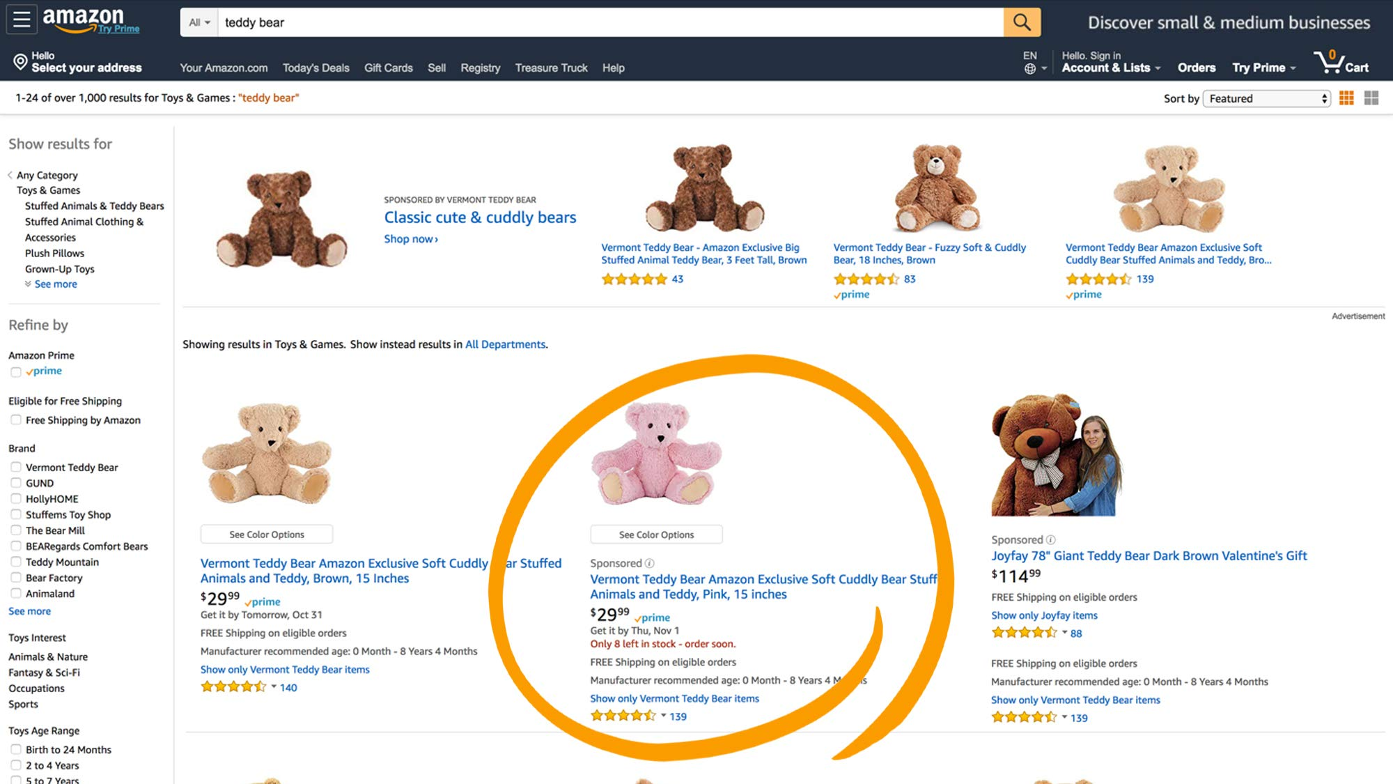 amazon sponsored product 3